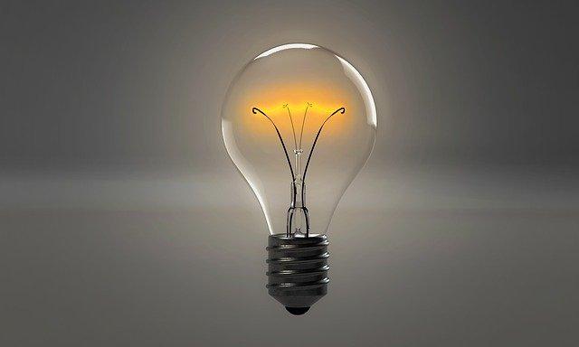 image ampoule allumée