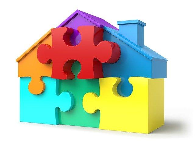 image puzzle logement
